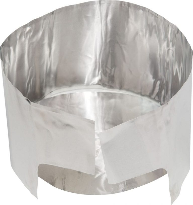 Solid Heat Reflector with Windscreen 3