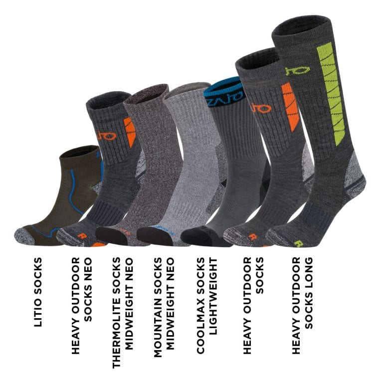 Coolmax Socks Lightweight 7