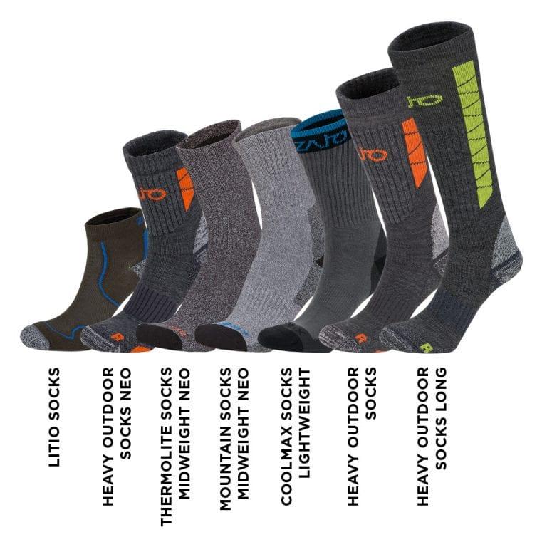 Thermolite Socks Midweight Neo 12