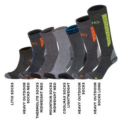 Mountain Socks Midweight Neo 24