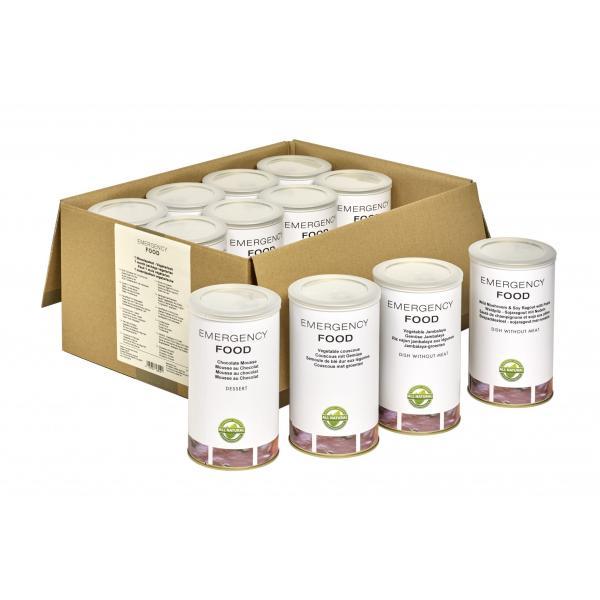 Mesačný balík núdzovej stravy - vegetariánsky 3