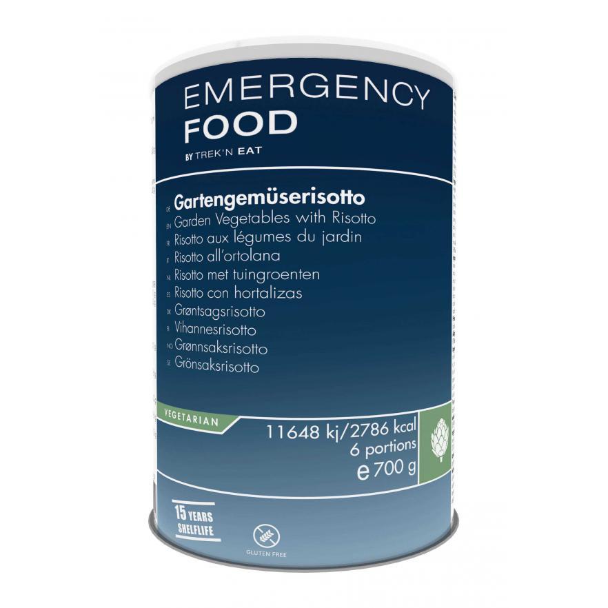 Mesačný balík núdzovej stravy - vegetariánsky 11