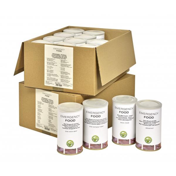 2 mesačný balík núdzovej stravy 2