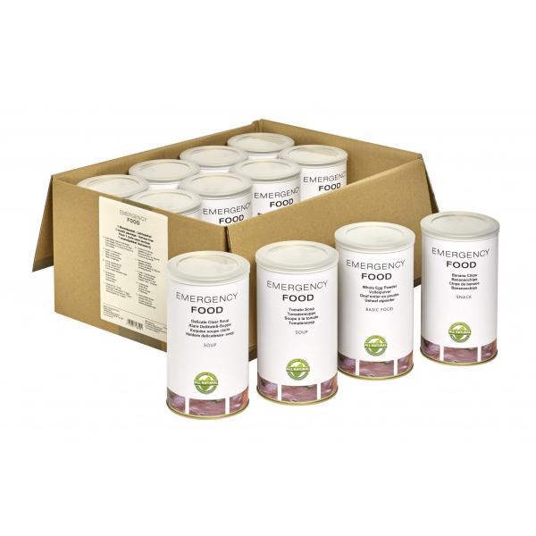 Mesačný balík núdzovej stravy - bezlaktózový 3