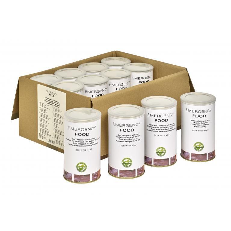 Mesačný balík núdzovej stravy s mäsom 3