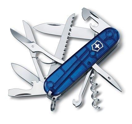Victorinox  Huntsman - transparentný modrý 3