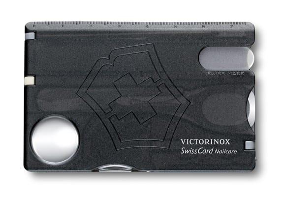 Victorinox SwissCard NailCare - čierna 3