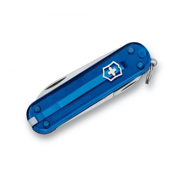 Victorinox Classic – transparentný modrý 6