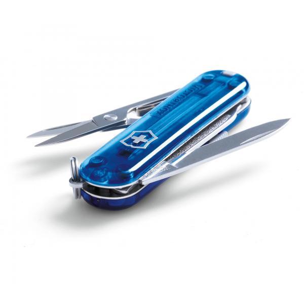 Victorinox Signature - transparentný modrý 6
