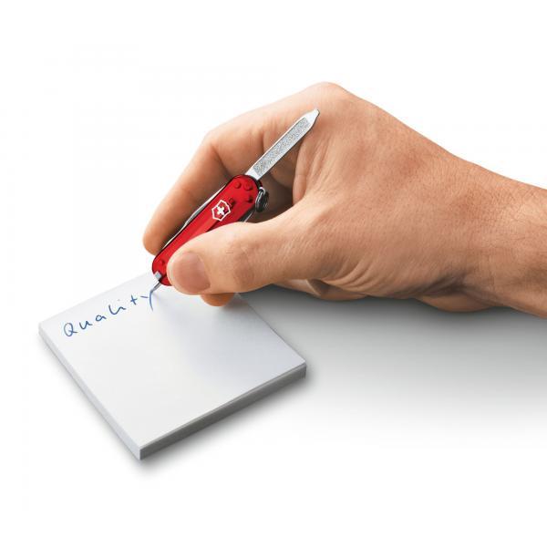 Victorinox Signature - transparentný červený 4