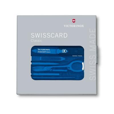Victorinox 0.7122.T2 SwissCard Classic Sapphire 6