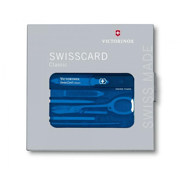 Victorinox 0.7122.T2 SwissCard Classic Sapphire 4