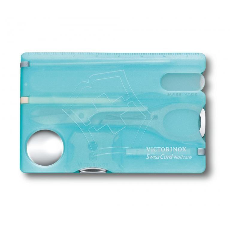 Victorinox SwissCard NailCare - bledomodrá 5