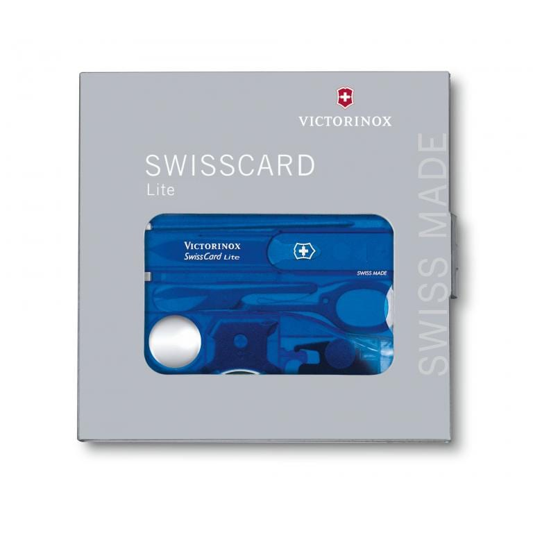 Victorinox 0.7322.T2 SwissCard Lite Sapphire 5