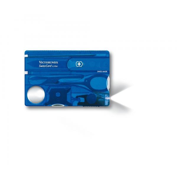 Victorinox 0.7322.T2 SwissCard Lite Sapphire 4
