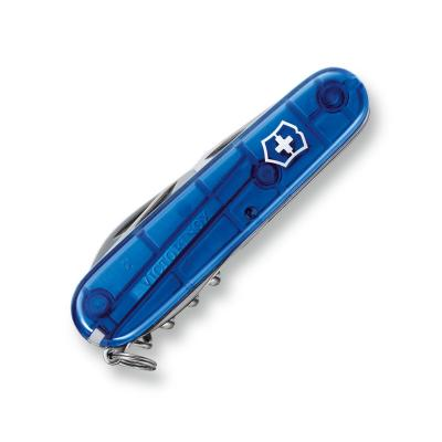 Victorinox Spartan - transparentný modrý 9