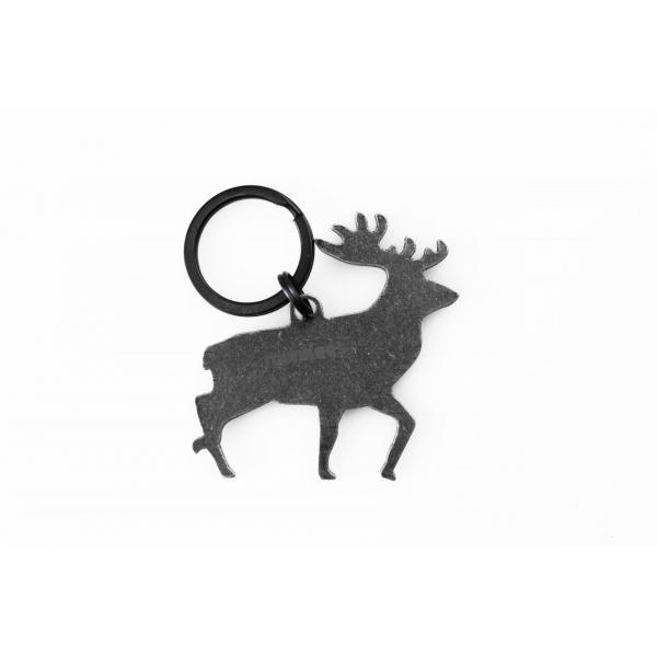 Nerezový otvárač fliaš - jeleň 3