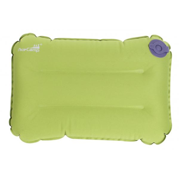 Nafukovací vankúšik - zelený 2