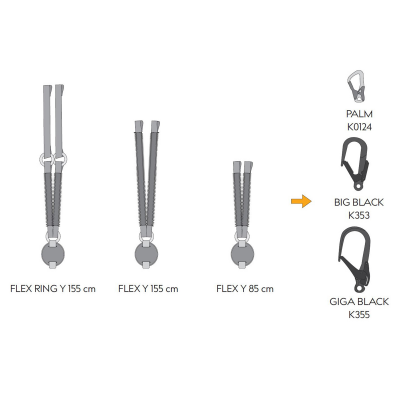 """Reactor 140 FLEX RING """"Y"""" 155cm +2xK0124 16"""