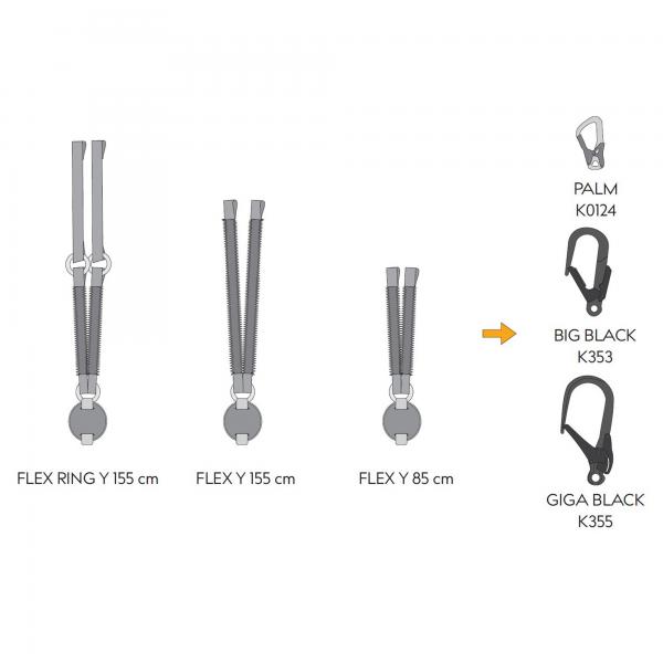 """Reactor 140 FLEX RING """"Y"""" 155cm +2xK0124 4"""