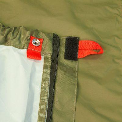 YATE bivakovací vak BIVAK BAG zip z obou stran 11