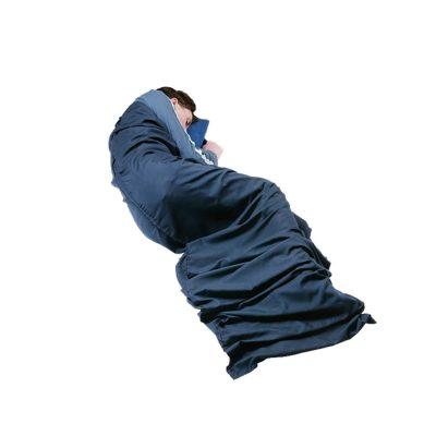 YATE vložka do spacáka PES/BA Hotelier deep blue 206x74 cm 5