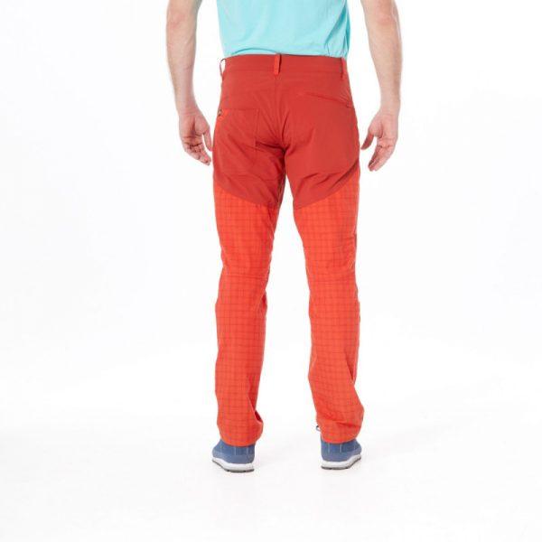 NO-3596OR pánske nohavice tkané-káro pre outdoorové aktivity 1L GREJOL 4