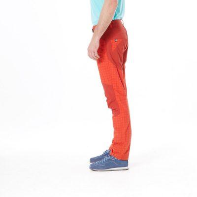 NO-3596OR pánske nohavice tkané-káro pre outdoorové aktivity 1L GREJOL 15