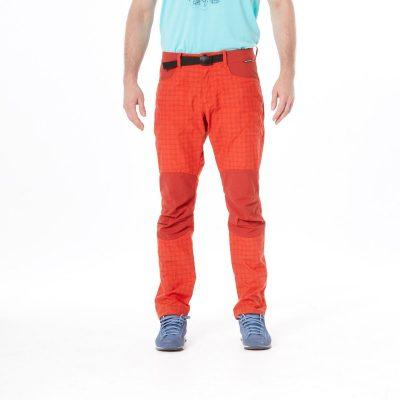 NO-3596OR pánske nohavice tkané-káro pre outdoorové aktivity 1L GREJOL 16