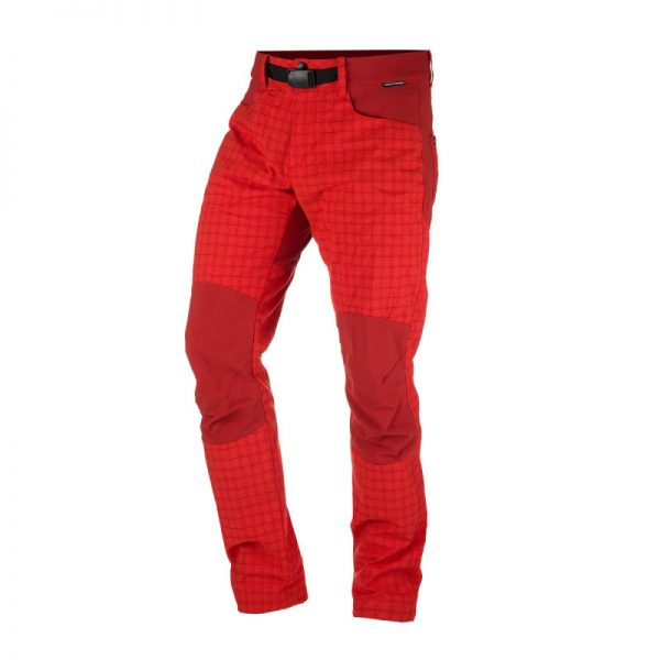 NO-3596OR pánske nohavice tkané-káro pre outdoorové aktivity 1L GREJOL 7