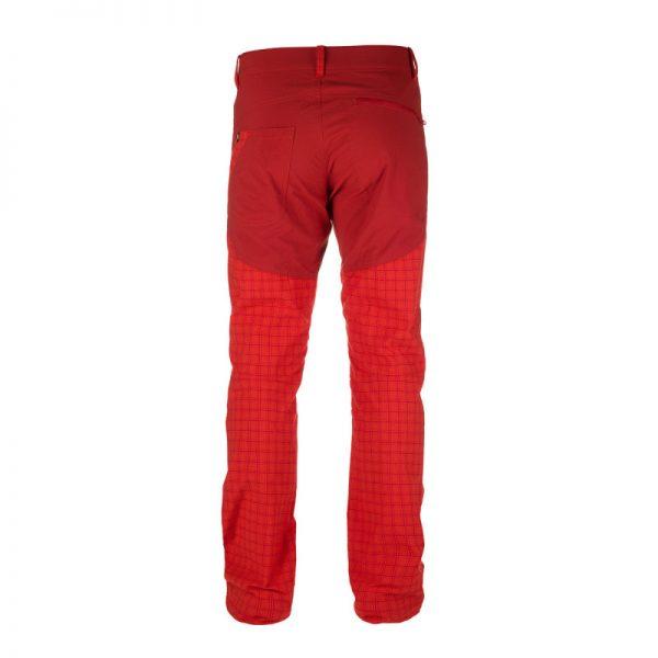 NO-3596OR pánske nohavice tkané-káro pre outdoorové aktivity 1L GREJOL 3