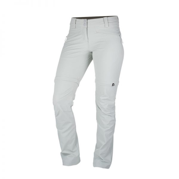 NO-4593OR dámske nohavice 2v1 tkané-strečové pre outdoorové aktivity 1L DRALA 13