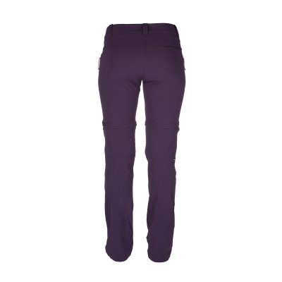 NO-4593OR dámske nohavice 2v1 tkané-strečové pre outdoorové aktivity 1L DRALA 18