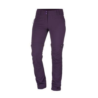 NO-4593OR dámske nohavice 2v1 tkané-strečové pre outdoorové aktivity 1L DRALA 19