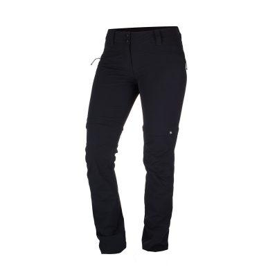 NO-4593OR dámske nohavice 2v1 tkané-strečové pre outdoorové aktivity 1L DRALA 21