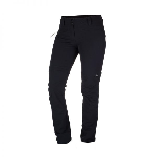 NO-4593OR dámske nohavice 2v1 tkané-strečové pre outdoorové aktivity 1L DRALA 11