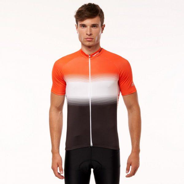 TR-3375SII pánske tričko cyklistické celopotlačené slim fit VALENTINO 5