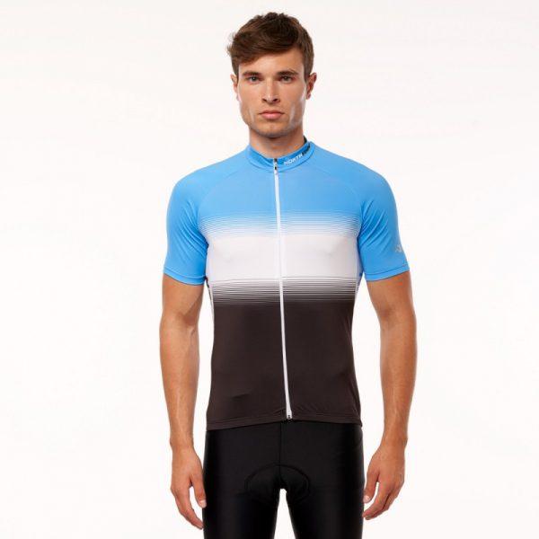 TR-3375SII pánske tričko cyklistické celopotlačené slim fit VALENTINO 9