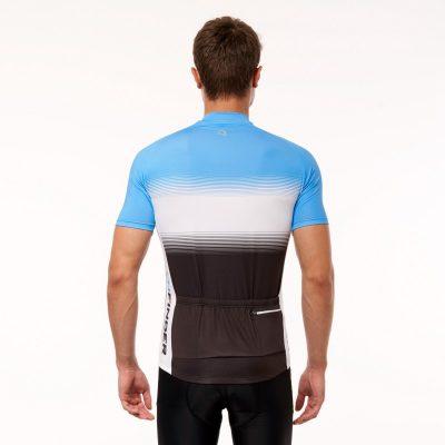 TR-3375SII pánske tričko cyklistické celopotlačené slim fit VALENTINO 19