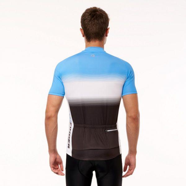 TR-3375SII pánske tričko cyklistické celopotlačené slim fit VALENTINO 10
