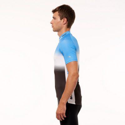 TR-3375SII pánske tričko cyklistické celopotlačené slim fit VALENTINO 20