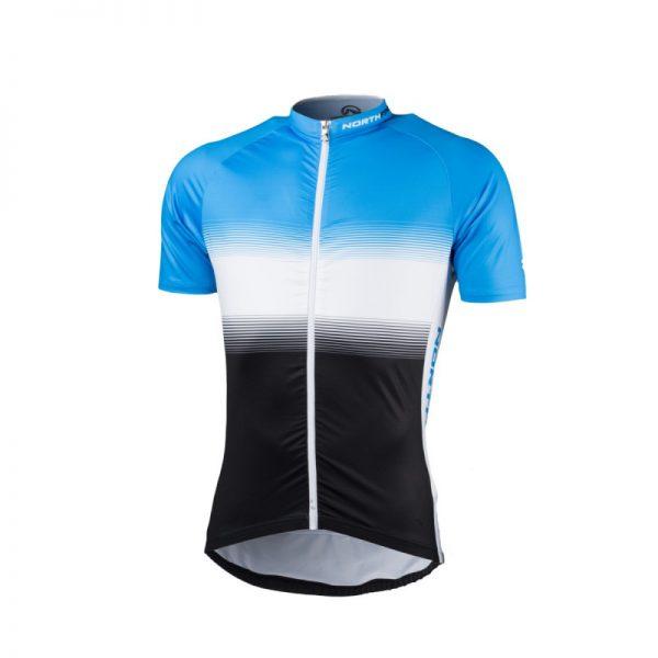 TR-3375SII pánske tričko cyklistické celopotlačené slim fit VALENTINO 12