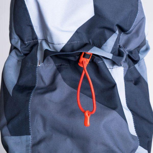 BU-3800SNW pánska bunda zateplená free-style plná výbavou print ELKLIPS 12
