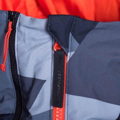 BU-3800SNW pánska bunda zateplená free-style plná výbavou print ELKLIPS 34