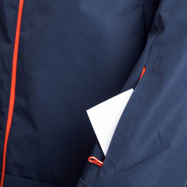 BU-3800SNW pánska bunda zateplená free-style plná výbavou print ELKLIPS 18