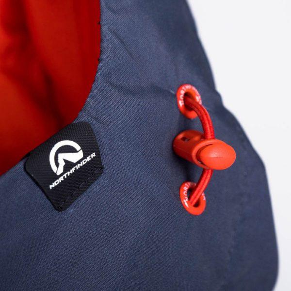 BU-3800SNW pánska bunda zateplená free-style plná výbavou print ELKLIPS 19