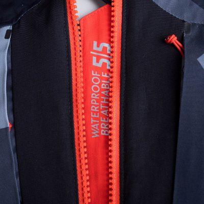BU-3800SNW pánska bunda zateplená free-style plná výbavou print ELKLIPS 27