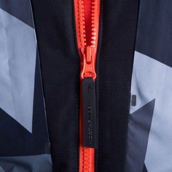 BU-3800SNW pánska bunda zateplená free-style plná výbavou print ELKLIPS 8