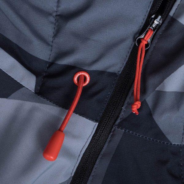 BU-3800SNW pánska bunda zateplená free-style plná výbavou print ELKLIPS 9