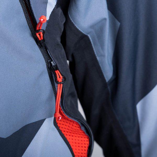BU-3800SNW pánska bunda zateplená free-style plná výbavou print ELKLIPS 11